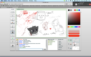 early morning iscribble fun by Bexiesaurus-Rex