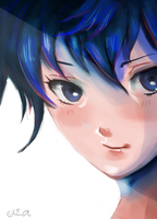 Naoto Commission by SoSaucy