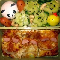 Omelet Bento by Thenextera