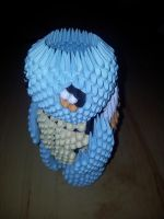 3D Origami Squirtle (Pokemon) by UNSJN