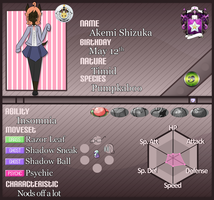 PKMN-Armonia Application: Akemi by Cherries