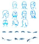 HEAD and EYES angles by Washu-M