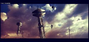Another World: two towers by anderton