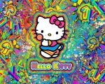 Hello Kitty is on Shrooms WP by Hallucination-Walker