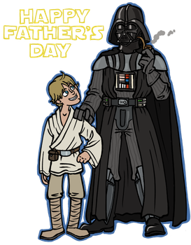 StarWars: Father's Day by sparkyHERO