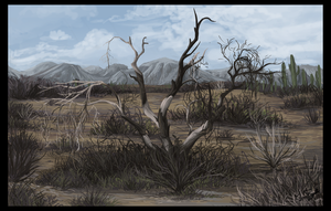 Desert Tree by DawnFrost