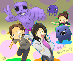 Lets play Ao Oni! by KonjouNashi