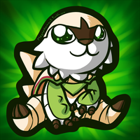 Chesnaught Sticker by MegasArtsAndCrafts