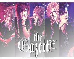 The GazettE Wallpaper by InTheDeepDark