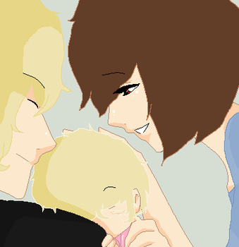 Alice and Jared and the newly made Ciel by iDelightdfullyInsane