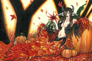 Protector of the Pumpkin Patch by FelesTacita