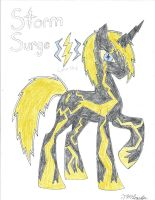 Stallion of Storms by ARTgazer12