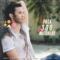 Pack 300 Watchers | Love you so xx by PrettyPrinc3