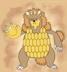Alternate Fakemon Grizlomb by Weirda208