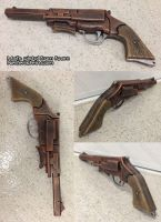 Mal Reynolds pistol from Firefly foam prop gun by GirlyGamerAU