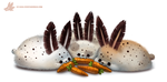 Daily Paint #1026. Sea-Bunnies by Cryptid-Creations