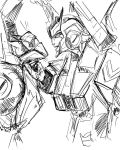Chromedome and Prowl 1 by Jit-Seven