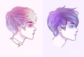 Luhan and Sehun by haut-talons