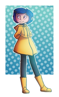 coraline jones by HayaMika