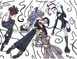 Formal Homicidal Orgy by ladyyatexel