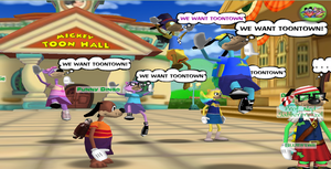 we want toontown by Official-Fallblossom