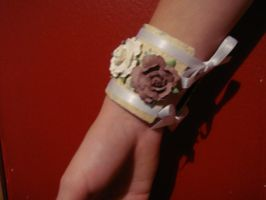 Flower Cuff by MooniesLove