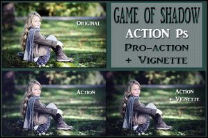 Game of shadow  ACTIONS Ps by Tetelle-passion