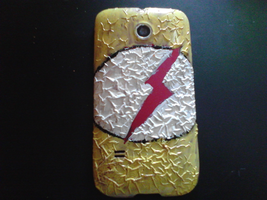 Kid Flash phone case by cloudkitten100