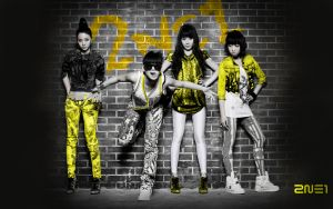 2NE1 by AiMeiNeko