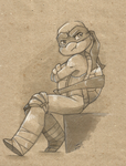 TMNT: Pouting by NamiAngel