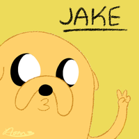 Jake the dog by Hannavi