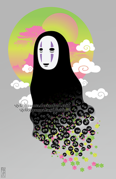 No Face and Soot Sprites by RetkiKosmos