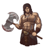 Kull the Conquerer by Blazbaros