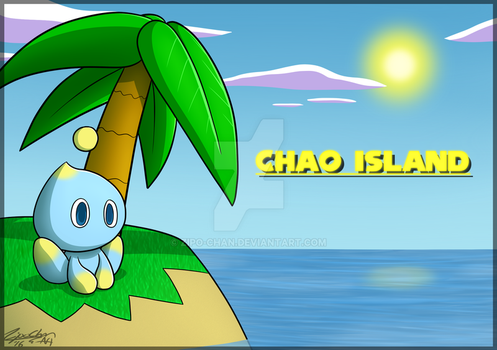 Chao Island poster (2016) by Zipo-Chan