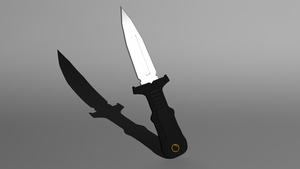 Combat Boot Knife by Krayzieee