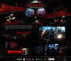 Resident Evil: Operation Raccoon City - Website by K3nzuS