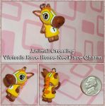 Animal Crossing - Victoria Horse Charm - Handmade by YellerCrakka