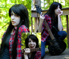 Marceline the Vampire Queen Set by iyamikinoko