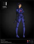 TRDL 2015 Series No 12  Baroness Blue Version by TRDLcomics
