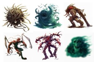 paizo bestiary by RyanPortillo