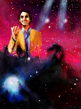 Carl Sagan by PhantasmagoricRS