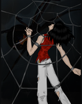 The Black Widow by HellsComingWithMe