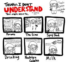 Things I Don't Understand Meme by ChibiSilverWings
