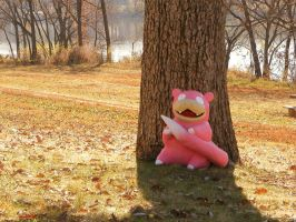 Slowpoke by alanbecker