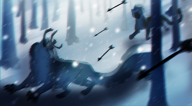 Call of the Winter King: Escape 5/5 by The-Snalf
