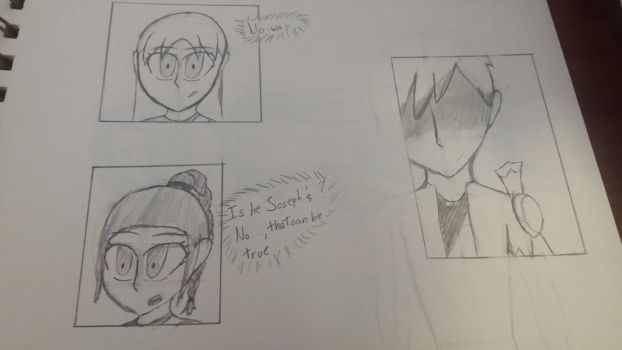 HoL: Starting from the Beginning (manga sketch) by MafiPaint