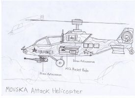 Movska Attack Helicopter by Target21