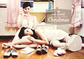 Pink Christmas by missfotografie