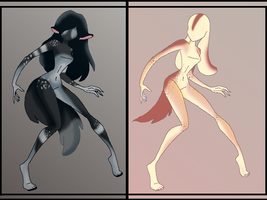 Anthro Adopts -SOLD- by AllYourAdoptz