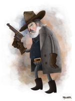 Rooster Cogburn by mmalette